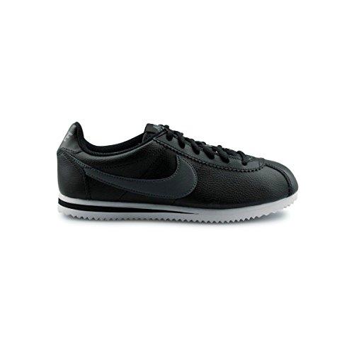 Nike Cortez Gs, Scarpe da Corsa Bambino negro