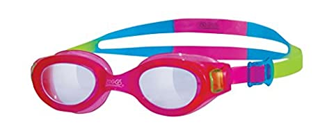 Zoggs Phantom Lunettes de natation Girl's Little Rose Clear/Pink/Multi-Colour 0 - 6 Years