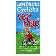 Lake District Cyclist's Lap Map
