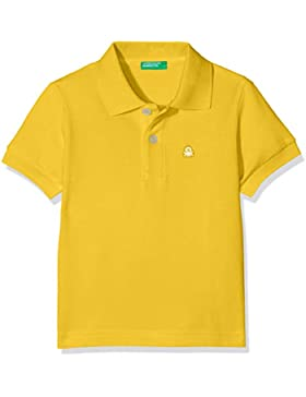 United Colors of Benetton H/S Shirt, Polo para Niños