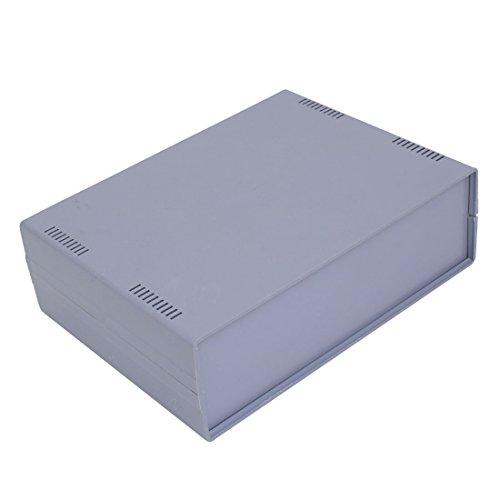 sourcing map 255mm x 190mm x 80mm en Plastique ABS Projet électronique Boîtier raccordement boîte