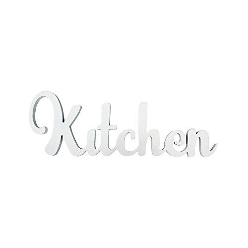 Mobili rebecca rebecca mobili scritta da appendere targa bianca legno shabby cucina soggiorno complementi d'arredo (cod. re6186)