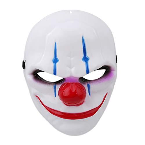 Toporchid Clown Maske Halloween Ernte Tag Thema Cosplay Party Maske