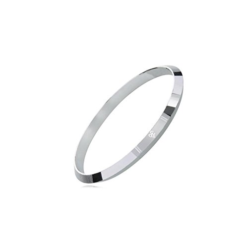 Shining Jewel 925 Sterling Silver Designer Om Kada Bracelet for Men (SJ_3123_2.14)