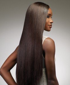 Sensationnel Goddess Remy Yaki – 100% Premium en cheveux tresse/100% Human Hair Weave Premium Extension