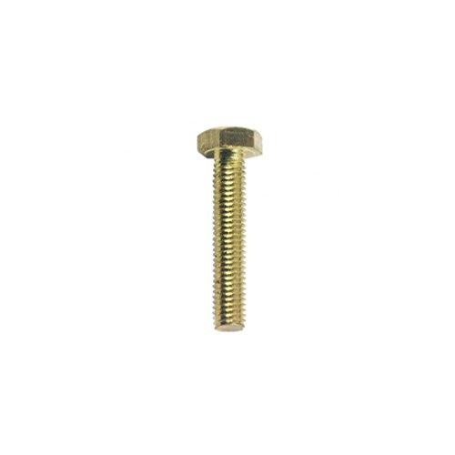 Diamwood - Vis métaux tête hexagonale F/Total 5 x 30 mm Laiton - Boite de 200 pcs - DIAMWOOD VHT05030LNB