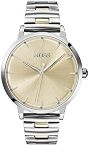 Hugo Boss Women's Light Gold Dial Two Tone Stainless Steel Watch - 150