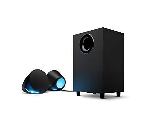 Logitech G560 Gaming Lautsprecher in PC RGB mit Surround-Sound DTS:X Ultra und Spielerspezifische LIGHTSYNC Beleuchtung (Zertifizierte Klimaanlage) (Surround-sound-lautsprecher Logitech)
