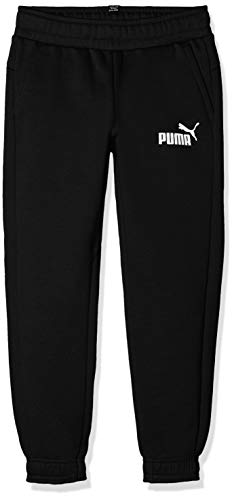 Puma Jungen ESS Logo Sweat Pants TR cl B Hose, Cotton Black, 176