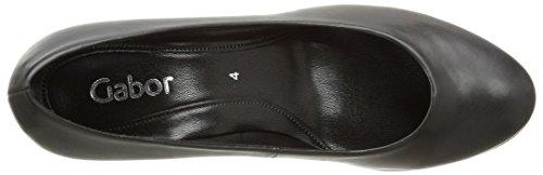 Gabor - 35-200-70, Sandalo Con Tacco da donna Nero (schwarz)