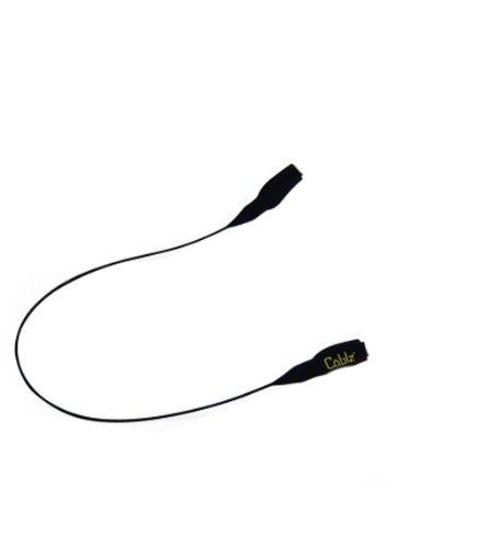 Cablz Original Stil Kabel Eyewear Retention System, Unisex, schwarzes Kabel