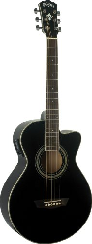 washburn chitarra elettroacustica EA10B-nero