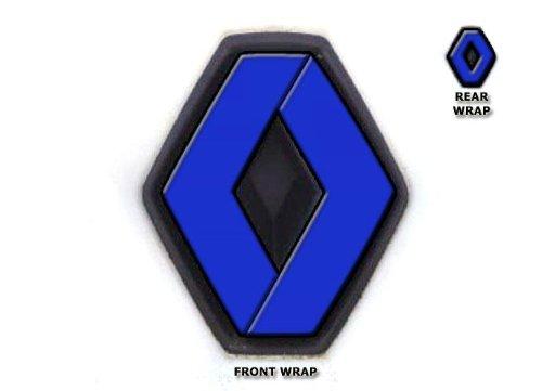 badge-wraps-avant-et-arrire-pour-renault-twingo-ii-modles-2007-2011-adhsif-en-vinyle-bleu