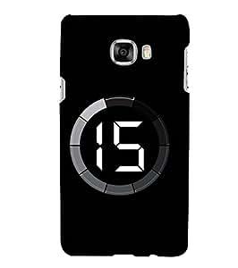 Fuson Designer Phone Back Case Cover Samsung Galaxy C7 SM-C7000 ( Seconds To Disaster )