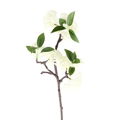 VORCOOL Künstliche Berry Stems Blumen Beeren Obst gefälschte Seide Blumen Bouquet für Home Party Hochzeit Dekor (Ginkgo)