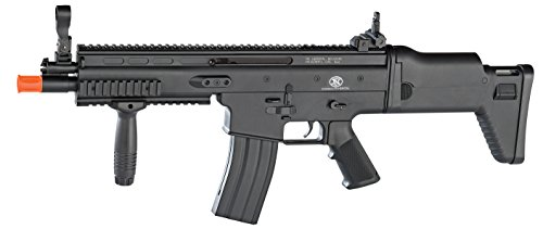 AIRSOFT Cybergun FN Scar L black ABS Feder Spring (0,5 Joule) -