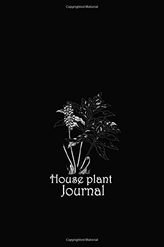house plant journal: blank notebook college ruled journal for you or as a gift for your children girl or boy to use it in school or for you  to use at office or home.