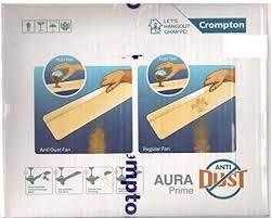 Crompton Aura Prime Antidust 48-inch Ceiling Fan (Titanium Effect)