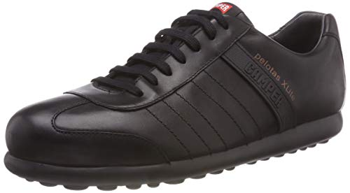 Camper 18304 - Zapatillas de deporte de cuero para hombre, color negro, talla 45