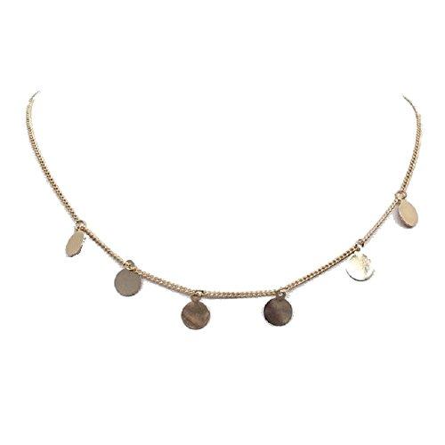 e Kette Orient Orientalisch Münze im Gold (Gold Münze Halskette)