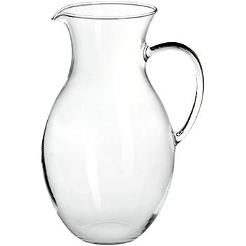 Wasserkaraffe 1 Liter Glaskaraffe Wasserspender Wasser
