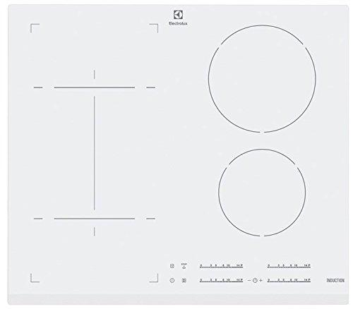 Electrolux ehi6540fw1 Plaque – Plaque (intégré, induction, Verre, Blanc, toucher, 50/60 Hz)