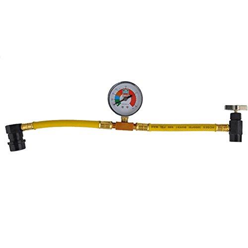 Preisvergleich Produktbild O&N KFZ R134A Klimaanlage Klimaschlauch Kaeltemittel Manometer Druckmanometer