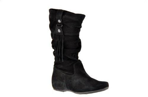 Agorà 2cm Bottines Neuf Chaussures Enfant Noir