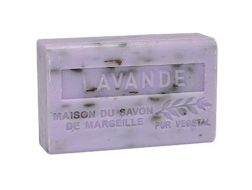 Provence Seife Lavande Broyee (Lavendel) - Karité 125g -