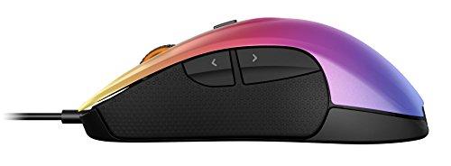 SteelSeries Rival 300 Optische Gaming-Maus (6 Tasten, Gummierte seitliche Griffflächen) – CS:GO Fade - 3