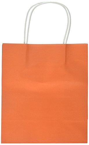 (Amscan Medium Geschenk-Papiertüten, Orange)