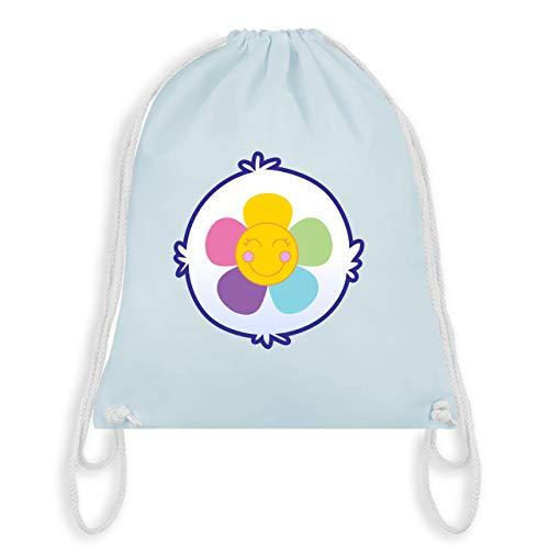 (Karneval & Fasching - Cartoon-Bärchis Blume - Unisize - Pastell Blau - WM110 - Turnbeutel & Gym Bag)