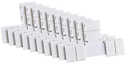 Lunartec Zubehör zu Flexible LED-Leisten: T-Verbindungsstück für LED-Streifen der Serie LE, 10er-Set (LED Strips)