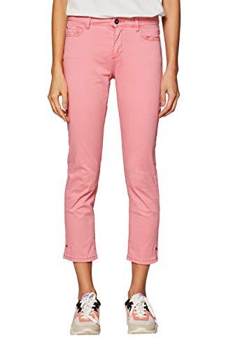 ESPRIT Damen 039EE1B019 Hose, Rosa (Pink 670), W44/L26(Herstellergröße: 44/26)