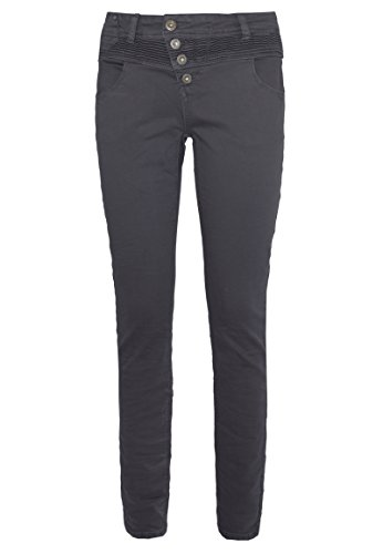 nny-Fit Hose BROOK | Bequeme 5-Pocket Stretch Twill-Hose dark-grey L (Dark Angel Outfit)
