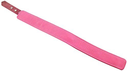 Rouge Garments Unisex-Adult's Leather Collar, One Size, Pink by Rouge Garments