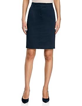 Relaxfeel de las mujeres de cintura alta con pliegues formal maxi largo plisado de la falda