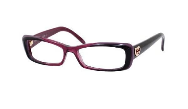 d6f4e060177f Gucci Women s 3516 Bordeaux To Cherry Frame Plastic Eyeglasses