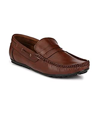 Big Fox New Brown Casual Loafers Shoes