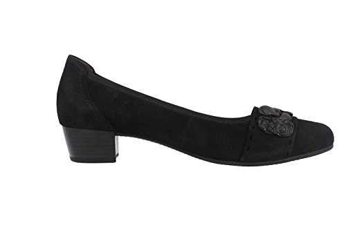 GABOR - Damen Pumps - Schwarz Schuhe in Übergrößen Schwarz