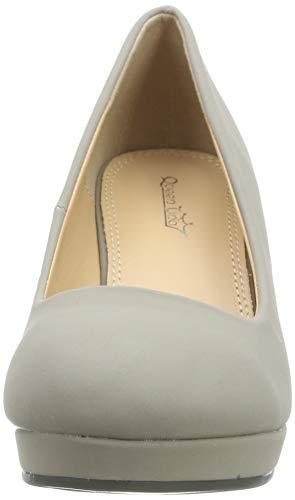 Elara Damen Pumps Keilabsatz Wedges Schuhe mit Plateau |Chunkyrayan - 4