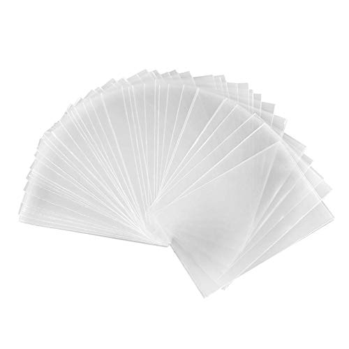 yestter 100 STÜCKE Magie Transparent Poker Karten Beschützer, Brettspiel Karten Beschützer Für Pokemon Sammelkarten Baseball Karten Sport Karten Spielkarten Visitenkarten