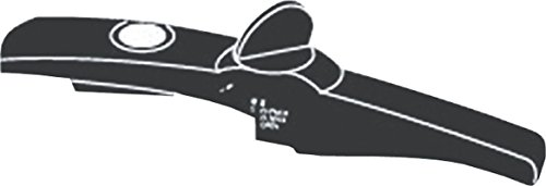 Silit Ersatzteil Deckelstielgriff Schnellkochtopf Sicomatic-E Ø 22cm Kunststoff schwarz