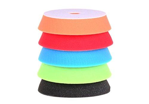 152-cm-150-mm-5-pad-mix-couleur-clair-cut-finition-et-ensemble-de-tampons-de-polissage-kit-de-poliss