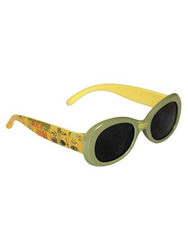 les minions Jungen Sonnenbrille Gr. onesize, grün/gelb