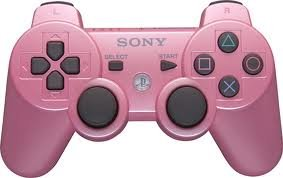PlayStation 3- PS3 - PINK OFFICIAL Rapid fire Controller - Elite Mod- 10 Mod