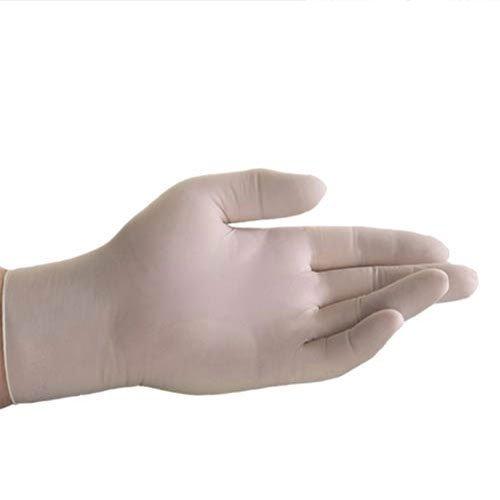 Boîte de 100 gants jetables en latex – Sans poudre – Taille L