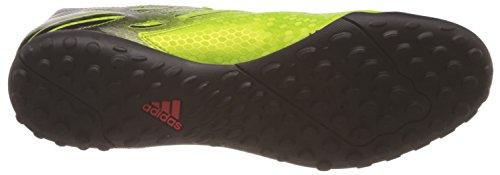 adidas Messi 15.4 TF, Chaussures de Football Homme Multicolore - Verde / Rojo / Negro (Seliso / Rojsol / Negbas)
