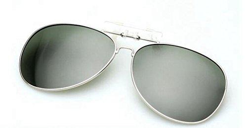 Augen Sonnenbrillen clip Sonnenbrille polarisierte Objektive-Brillen Clip Sonnenbrillen Myopie mit der Kröte Männer Chao