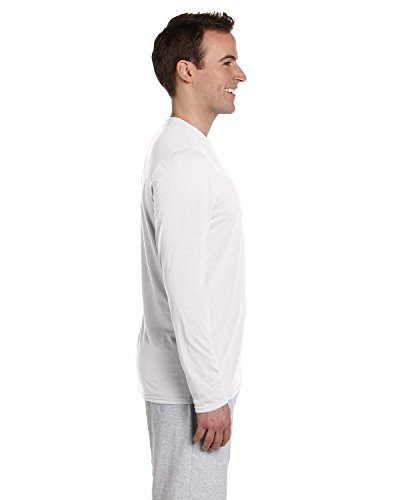 Gildan Gildan performance long sleeve t-shirt White
